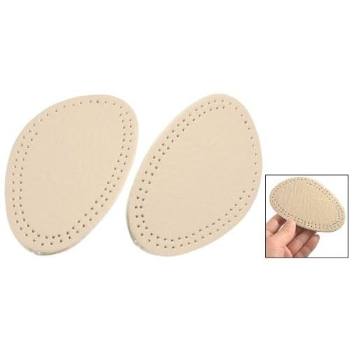 ASDS Practical Pair Beige Foam Front Pads Cushion Holes Design Shoes Half Insoles