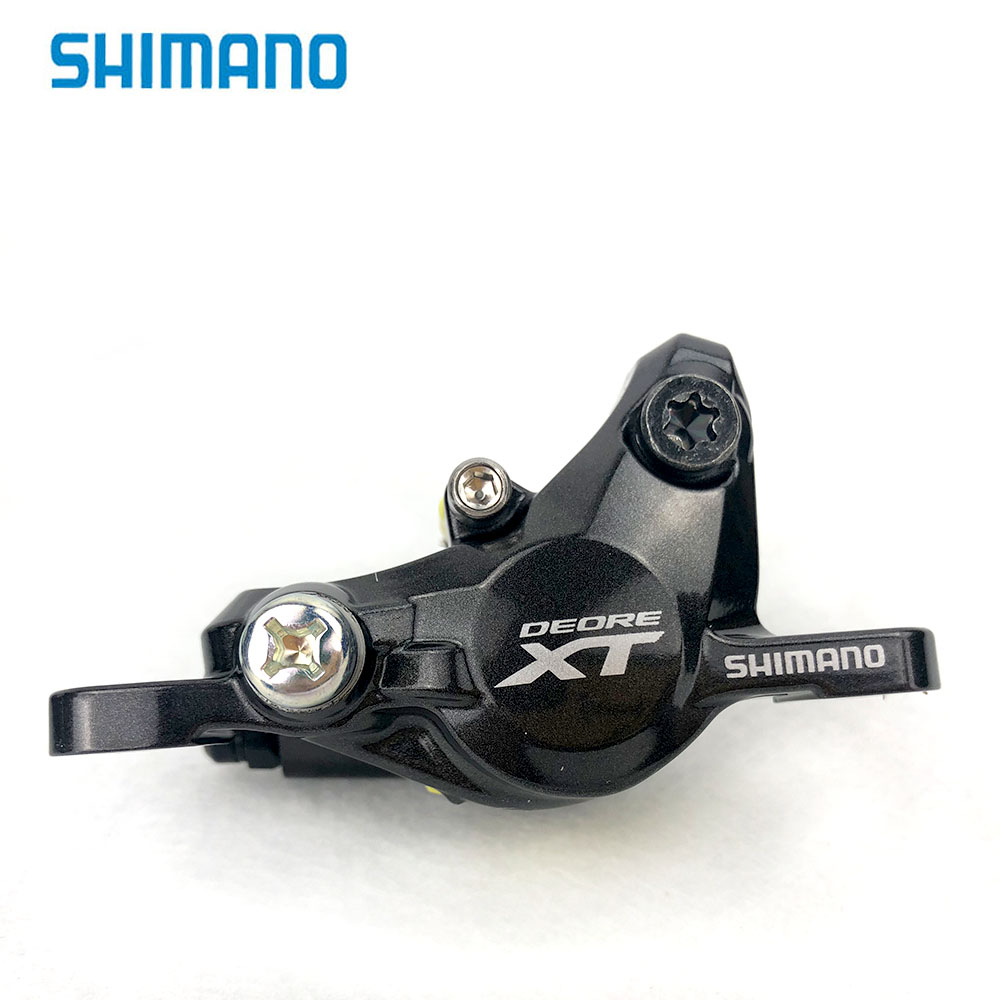 Shimano DEORE XT BR M8000 Brake Caliper with J02A Resin ICE-TECH Pads 1 pcs or with G02A Resin Pads (Non-heat sink)1 pcs цена 2017