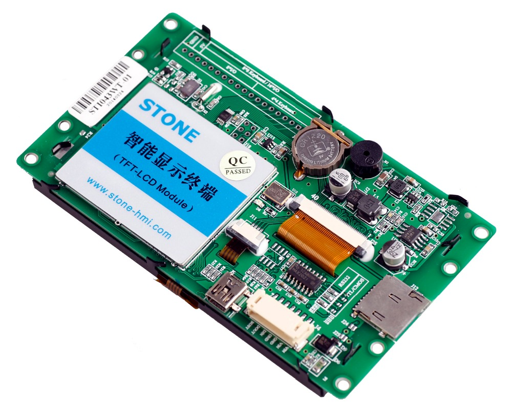 STONE TFT LCD With RS232/RS485/TTL PortSTONE TFT LCD With RS232/RS485/TTL Port