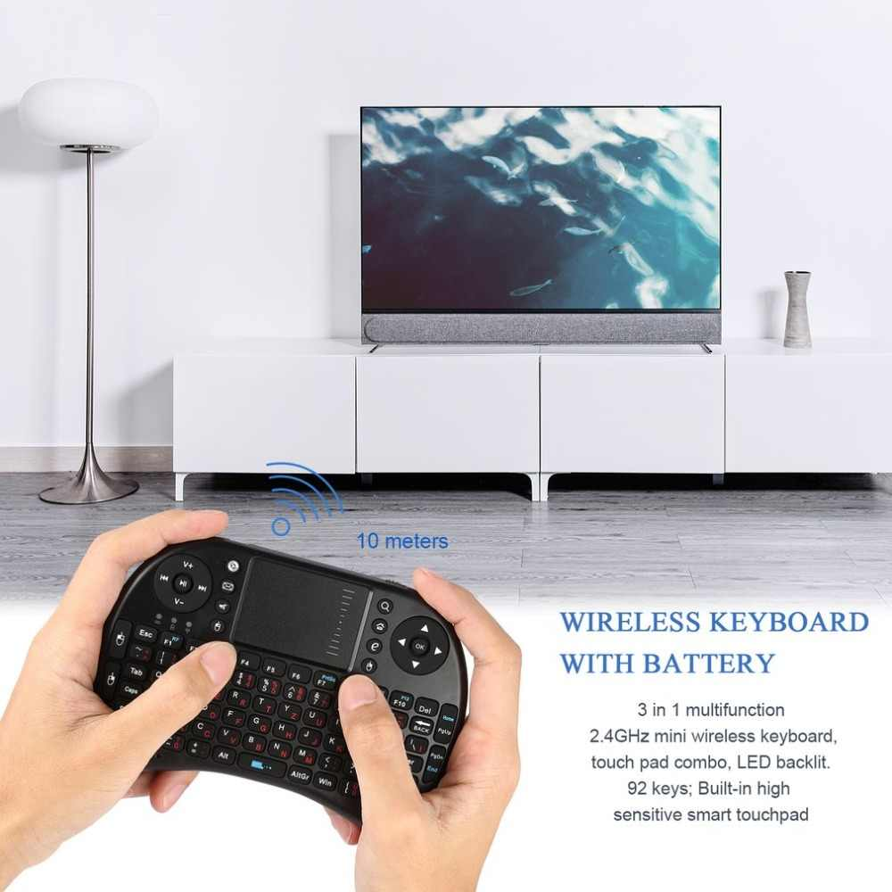c72b6d57ce1 Detail Feedback Questions about i8 Mini 2.4GHz Wireless BT Bluetooth Backlight  Touchpad Keyboard with Mouse for PC/PAD/for XBox 360/PS3/Android TV Box on  ...
