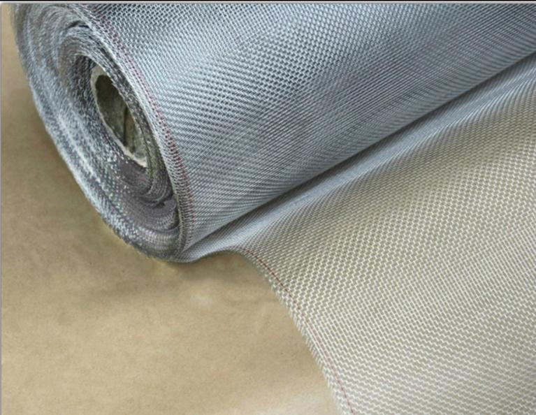 10m Thickest Style Width 1m Metal Mesh Screens , Stainless Steel Screens, Anti-mosquito, Sun, Fire Protective Net ,food Filter