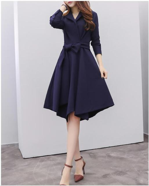 New Everyday Casual Dress Women S New Arrival 2017 Spring Loose Midi