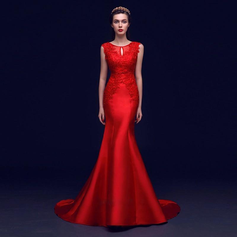ladies red lace cheongsam evening dresses uk satin with beading ...