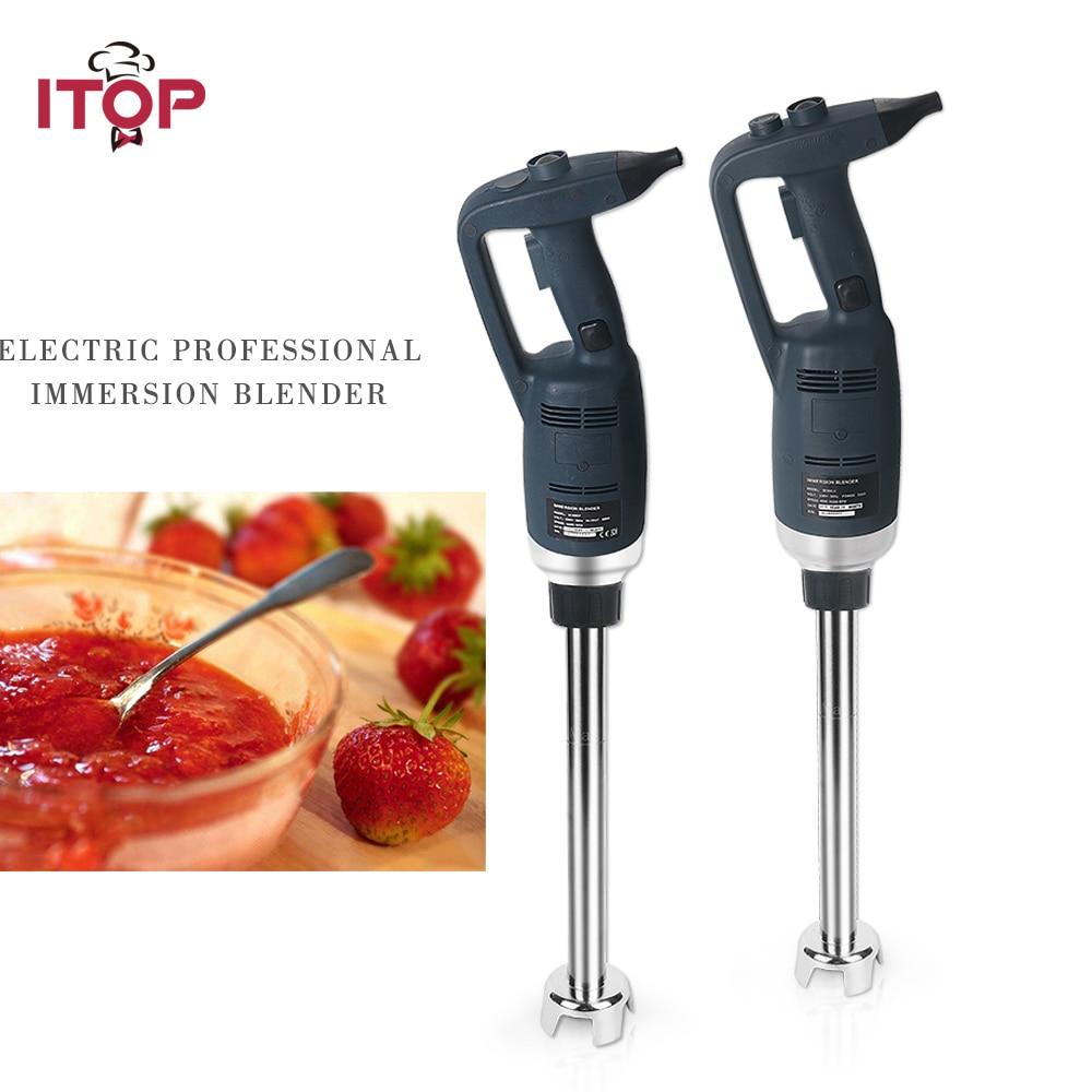 ITOP Professional 350W Blender Heavy Duty Immersion Hand Held Blender Ice Cream Egg Milk Food Mixers Juicer 110V 220V