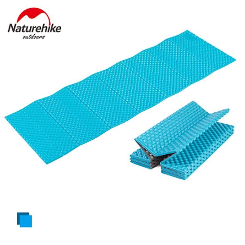 US $26 0 |NatureHike 1 Man Outdoor EVA Foam Camping Mat Ultralight Folding  Sleeping Pad R value 2 6 183*56cm-in Camping Mat from Sports &