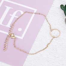 Ankle Chain Initial Anklet Geometric Anklets For Women Foot Jewelry