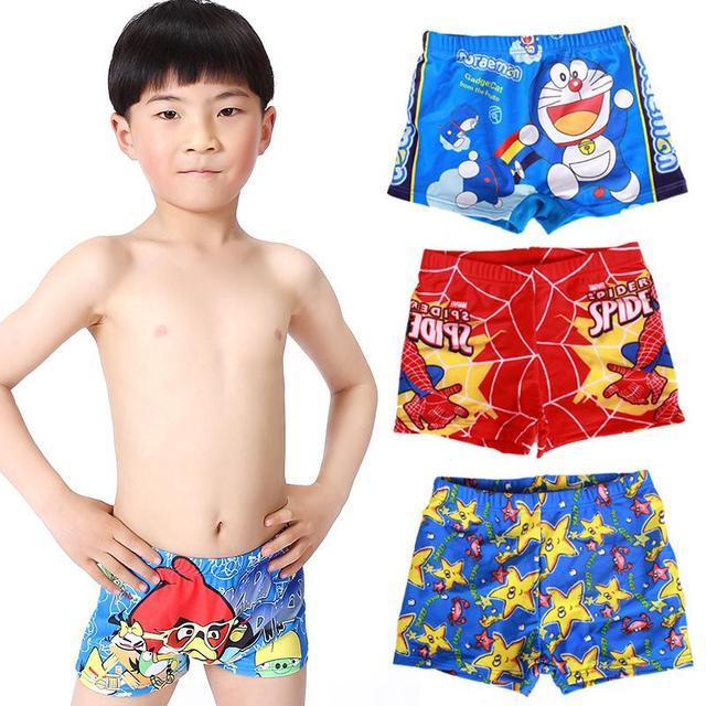 8121fde21acc8 2015 Boys Summer Wear Trunks Baby Boys Swimwear Kids Swimming Trunks  Cartoon cute Children Swimsuit Child shorts swim suit boys