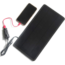 Newly 12V 18V 12W Solar Charger Solar Panel Battery Maintainer for Car Automobile Motorcycle Boat MJJ88