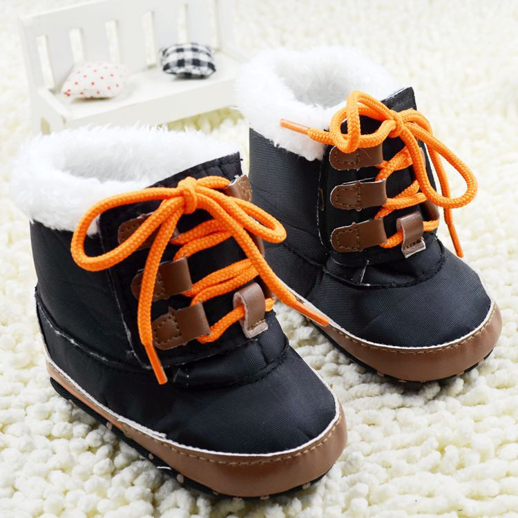 e23b62d1e5c2f Fashion Baby boys girls soft sole infant kids snow boots first walkers  skidproof newborn bebe shoes retail