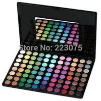 Free Shipping Pro 88 Matte Color Shimmer Eyeshadow Cosmetics Palette Wedding Makeup Mirror Set