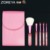 ZOREYA Marca 5 unids Moda Cosméticos Cepillo Del Maquillaje Portable Colorido Brillante Diamante Maquillaje Pinceles