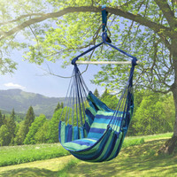 Outdoor Hammock Indoor Adult Cradle Chair Single Swing Balcony Chair Swing Rocking Chair Canvas Leisure Fashion Furniture
