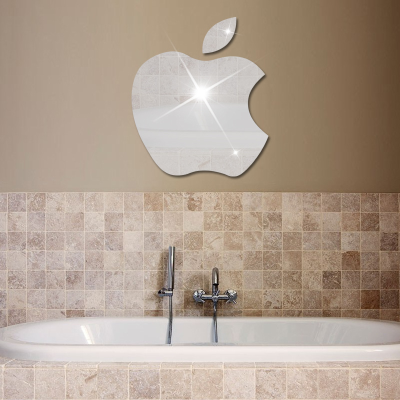 foreign trade goods stickers 3d stereo wall sticker apple logo