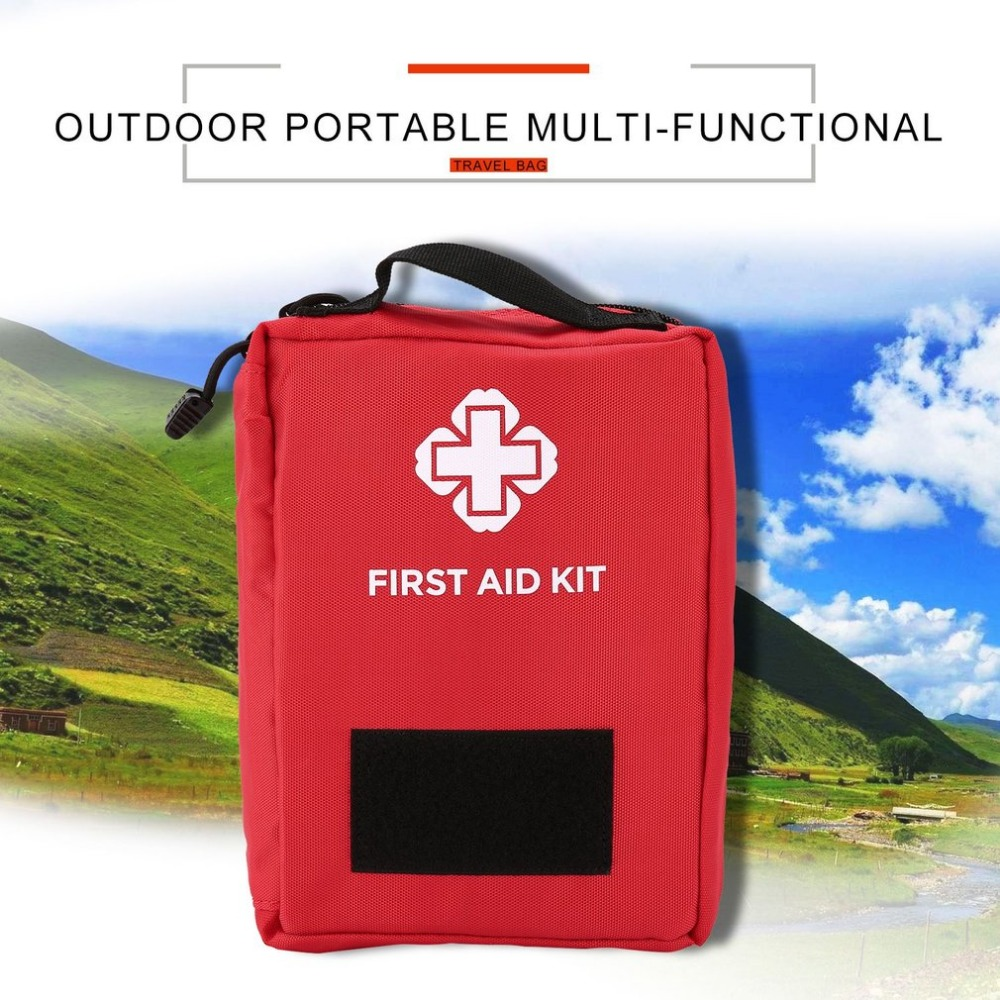 Tactical Medical First Aid Bag 600D Nylon Utility Pouch Bags Multifunctional Waist Pack Emergency Kit For Camping Climbing
