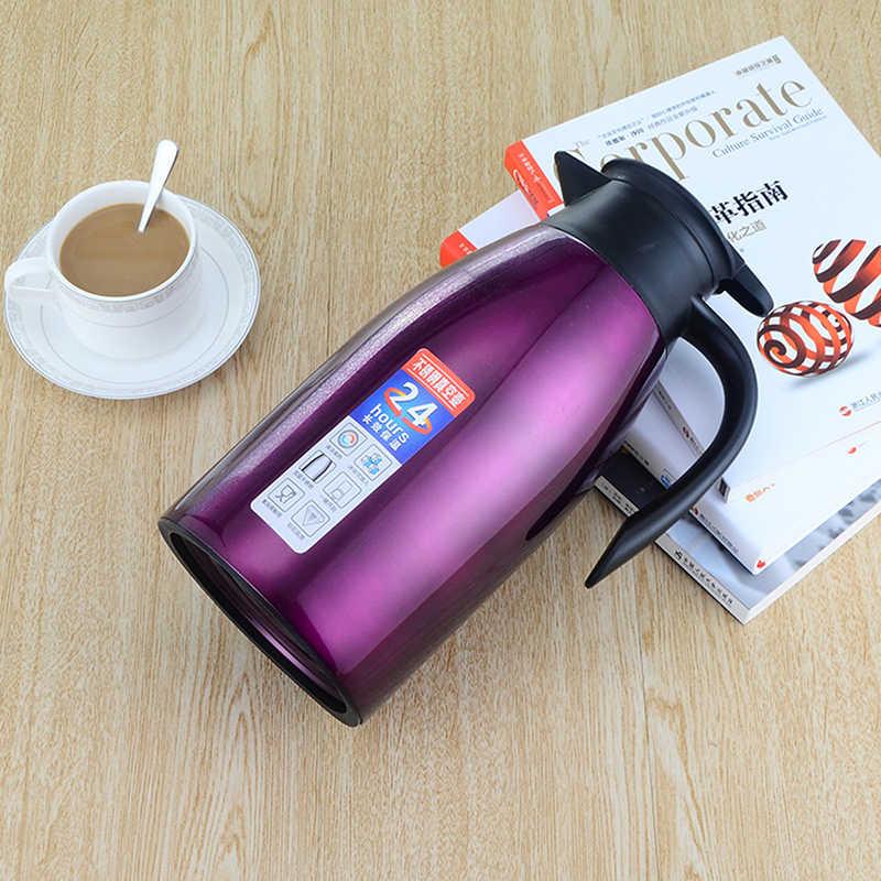 Urijk дома Термальность чайник двойной Слои Нержавеющаясталь Кофе горшок большой Ёмкость Термальность изоляции термос чайники кувшин