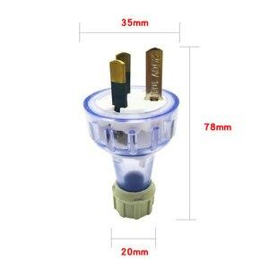 Image 2 - Розетка сетевая в собранном виде с 3 зубцами и заземлением