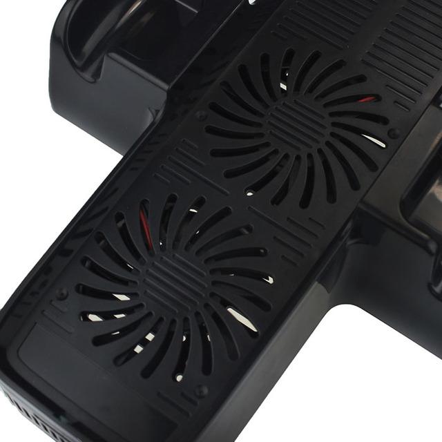 3 en 1 estación de carga del muelle vertical soporte del ventilador para xbox 360