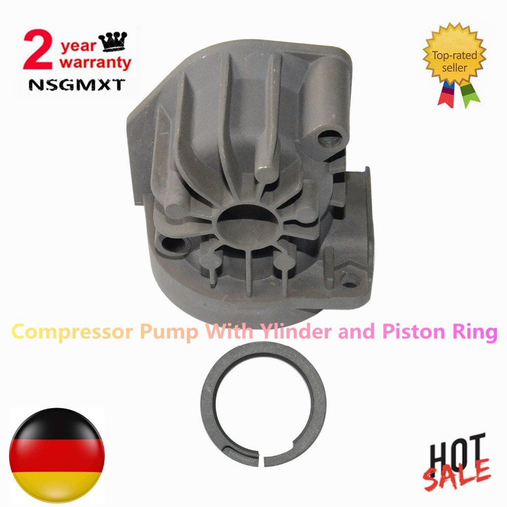 Air Suspension Compressor Pump With Ylinder Piston Ring Airmatic Repair Kit For Mercedes Benz W220 W211 S211 C219 2203200104 air suspension compressor repair kits compressor valve block for mercedes w220 2203200258 220 320 0258