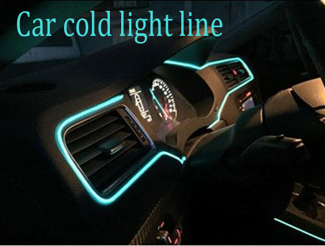 5Meter Car decorative lights Driving at night Ambient Light EL cold light line DIY decorative dashboard console door-in Signal L& from Automobiles ...  sc 1 st  AliExpress.com & 5Meter Car decorative lights Driving at night Ambient Light EL ... azcodes.com