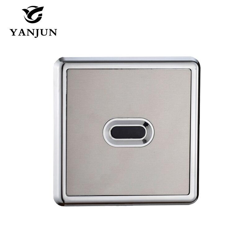 YANJUN Automatic Sensor Urinal flush valve concealed Touchless DC&AC YJ-6313 yanjun automatic urinal flush valve infrared wall mount hand touchless dc yj 6311