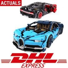 DHL технические игрушки шт. 4031 шт. Совместимость с Legoing техника 42083 Супер гоночный автомобиль модель строительные блоки кирпичи игрушки для детей Подарки