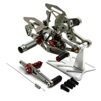 Motorcycle CNC Foot rest S1000RR Adjustable Rearset Foot Pegs for BMW S1000 RR 2015 2016 2017 Motorcycle Accessories