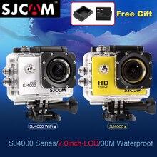D'origine SJCAM SJ 4000 Série SJ4000 & SJ4000 WIFI 2.0 D'action caméra Étanche Caméra 1080 P Full HD Wifi Sport DV SJ CAM cam