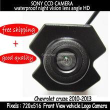 Front Side HD impermeable sony CCD vista frontal de la cámara de la cámara logo cámara para Chevrolet Cruze 2010 2011 2012 2013