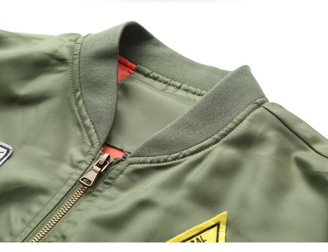 DIMUSI Bomber Jacket Mens  Ma-1 Flight Jacket Pilot Air Force Male Ma1 Army Green Military motorcycle Jacket and Coats 6XL,TA039 6