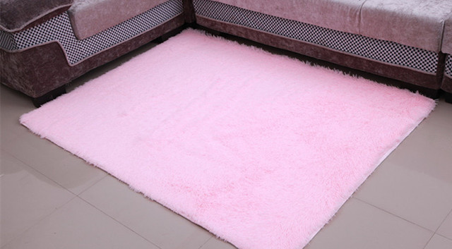 Light Pink Hot 200x300cm Anti Skid Soft Gy Home Area Rug Dining Room