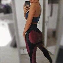 Fashion New Fitness leggings Women Mesh Breathable High Waist Sport Legins Femme Workout Legging Push Up Elastic Slim Pants цены
