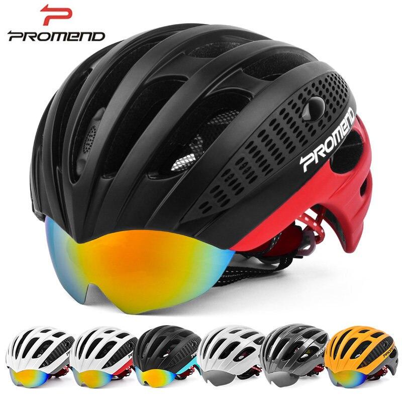 PROMEND font b Cycling b font Goggles font b Helmet b font Ultralight Integrally molded font