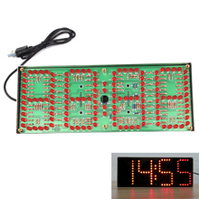 ECL-132 DIY Kit Red Supersized Screen Display Remote Control Clock Kit Accurate Eletronicos Digital Clock Timer