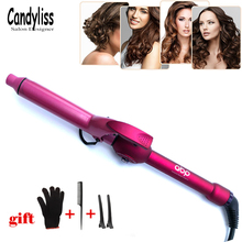 Professional Hair Curling Iron Ceramic Hair Curler Rollers Electric Magic Curling Wand Wave 9 13 19 25 32mm beads Styling Tools pritech brand multi function hair curler magic hair rollers straightener curling wand for family free shipping