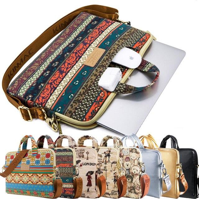 New Brand Laptop Bag Shockproof Portable Latpop Sleeve Fashion Notebook Case Shoulder Bag Cover For Macbook/HP/Lenovo13/14/15.6'