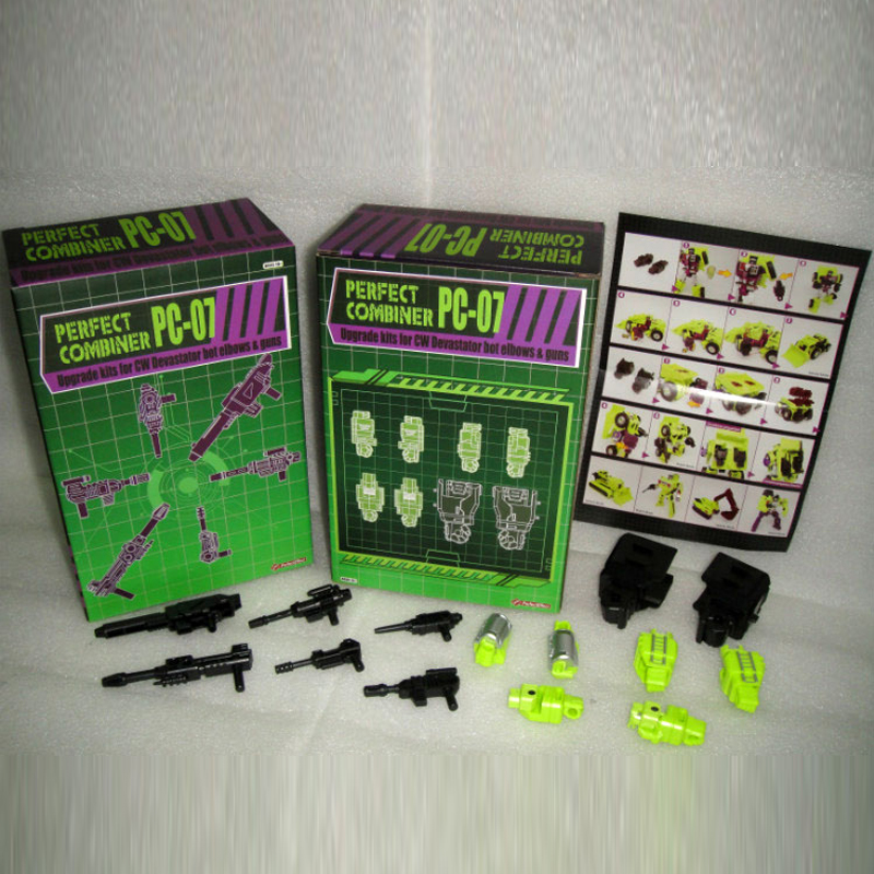 (IN STOCK) Toy Perfect Effect PE PC-07 Perfect Combiner Upgrade Kit For CW Devastator Bot Elbows And Guns кронштейн для тв kromax star 2