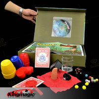 Puzzle Magic Gift Box High grade Magic Prop Varied Magic Tricks Toys High Quality with Teaching Video