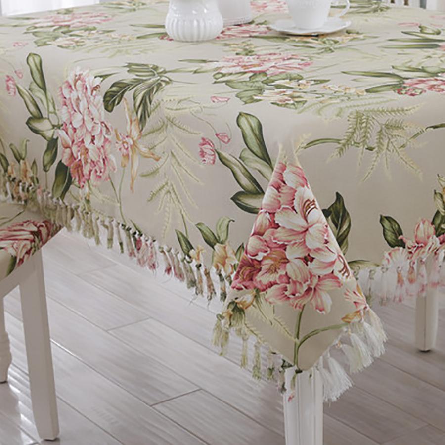 pao de tabla mesa de comedor mesa de mantel de lino manteles de encaje bordado decoracin