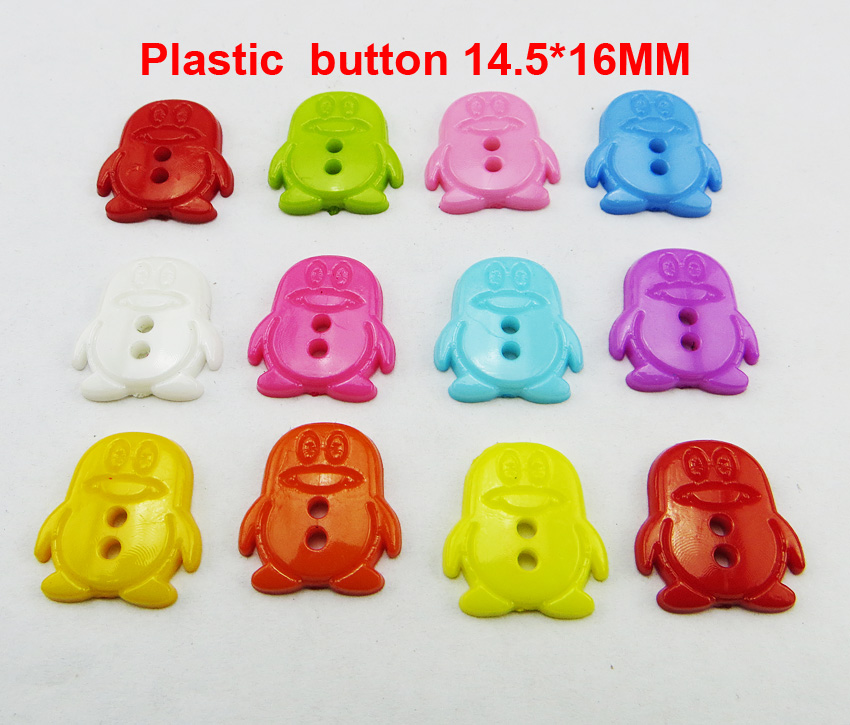 АКЦИЯ 100 шт смешанные формы много цветов Сделай Сам Скрапбукинг Мультяшные кнопки пластиковые кнопки детская одежда швейные принадлежности P-001 - Цвет: 17