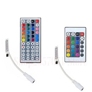 Image 2 - 12V 2A EU US Power Adapter Remote Controller IR 24Key 44Key For SMD 5050 3528 Led Strip