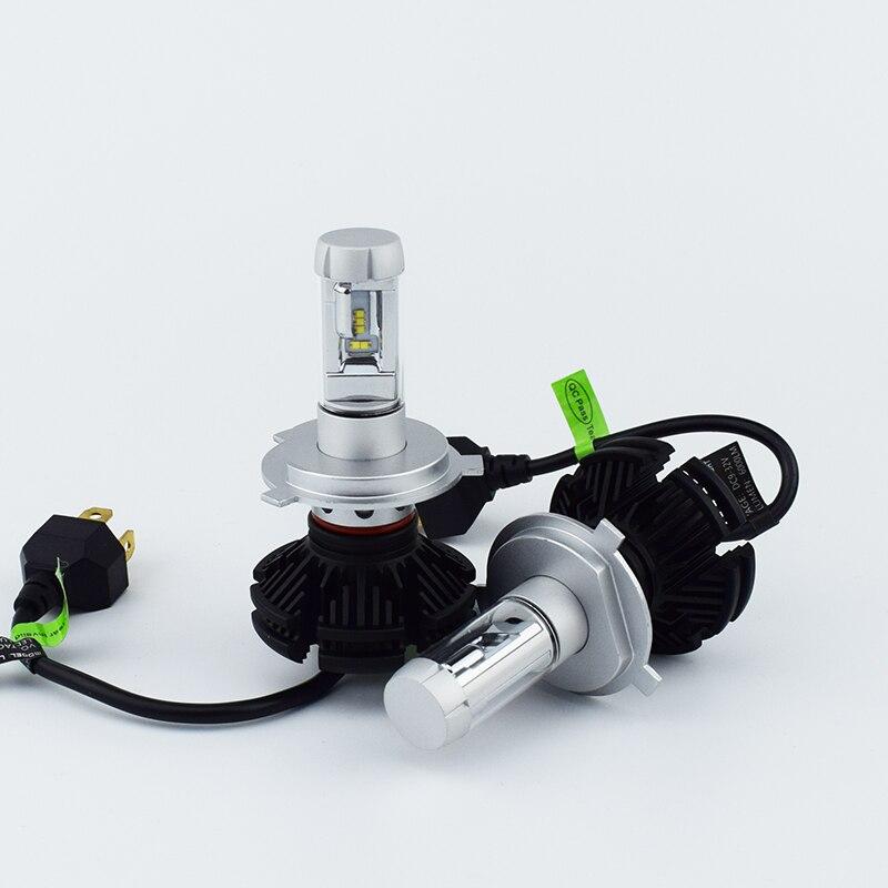 Car Headlight Bulb Kit 12V 50W 6000LM 6500K Automobile Headlamp ZES Lumileds LED chip Auto Light 9005 HB3 9006 HB4 H11 H4 H7 H13  isincer led h4 h7 h11 cob led car headlight bulb kit 110w 16000lm h1 h13 9005 9006 6500k 12v led automobile headlamp front light