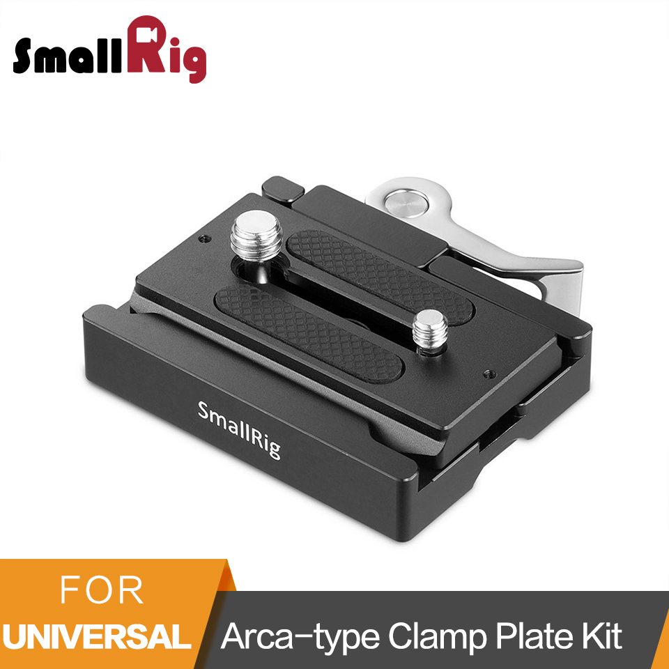 SmallRig Arca Style Quick Release Clamp and Plate Arca type Compatible For DSLR Camera Cage Tripods