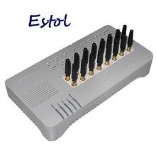 DBL GOIP16 Quad band VOIP GSM Gateway 16 canali GOIP 16 GOIP 16 IMEI cambio sim banca percorsi 16 SIM card SMS VOIP breve Antenna