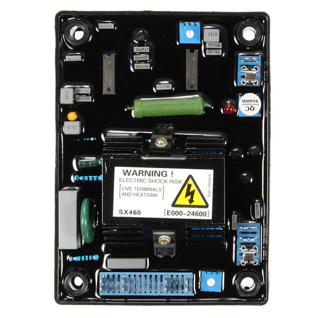 AVR SX460 Automatic Voltage Volt Regulator Replacement Single Phrase Generator Jumper Selectable