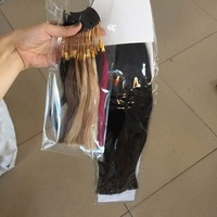 Beauty Hair Salon 100 Human Hair COLOR RING COLOR CHART For Hair Extensions 17 Different Colors