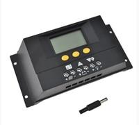 5x 30A 12V/24V Intelligent LCD PWM Solar Charge Controller Solar Panel Battery Regulator