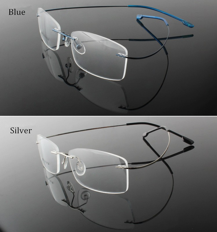 rimless optical glasses (10)