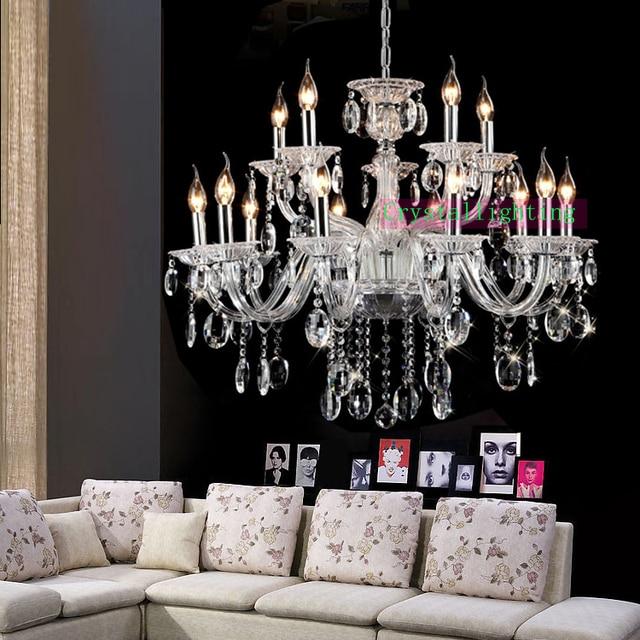 Moderne Wohnzimmer Luxus Kronleuchter Zeitgenössische Kristall Kronleuchter  Traditionellen Kristall Kerze Lampe Kristall Kronleuchter Küche