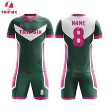 f2608fff3 Wholesale Top Quality 100% Dry Fit Black Customized Kids Soccer Uniform Set  Top Quality Personalised Sublimation Soccer Jersey
