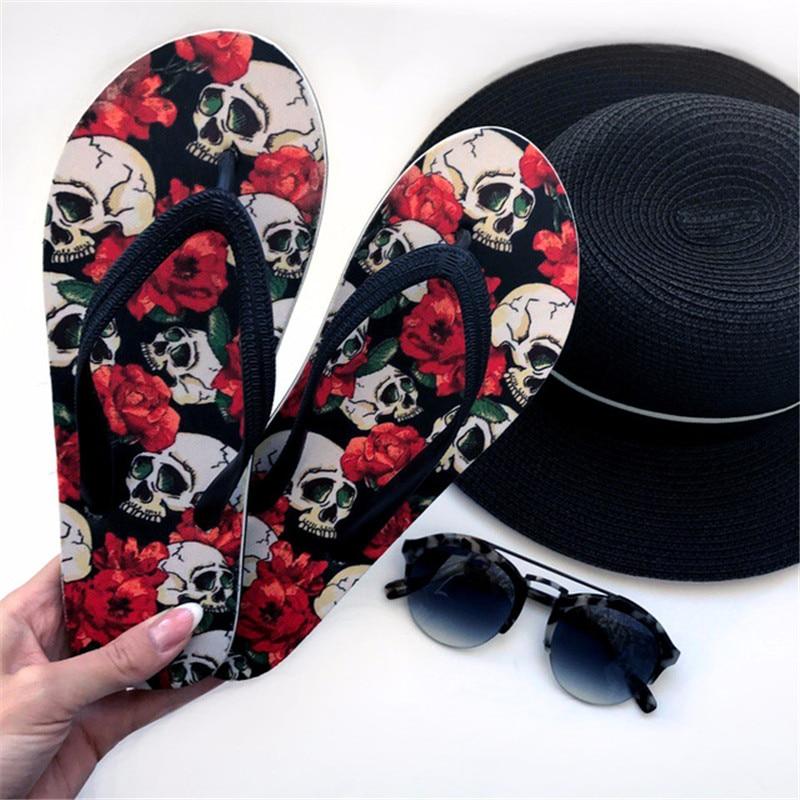 ELVISWORDS/мужские тапочки с принтом; мужские вьетнамки в винтажном стиле; парные туфли для подростков; модные шлепанцы без застежки; домашняя обувь
